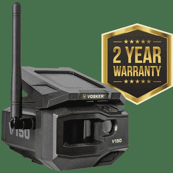 V150 2 year warranty
