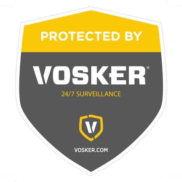 Vosker window sticker