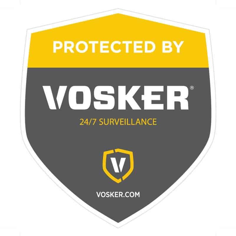 Vosker window sticker